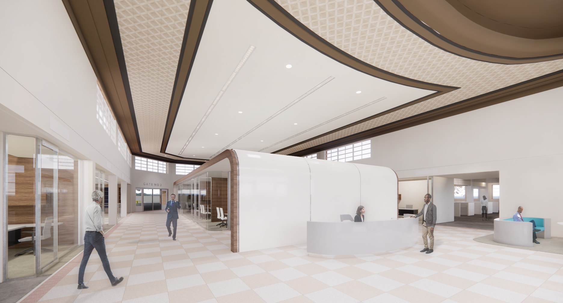 Rendering for the Greyhound lobby