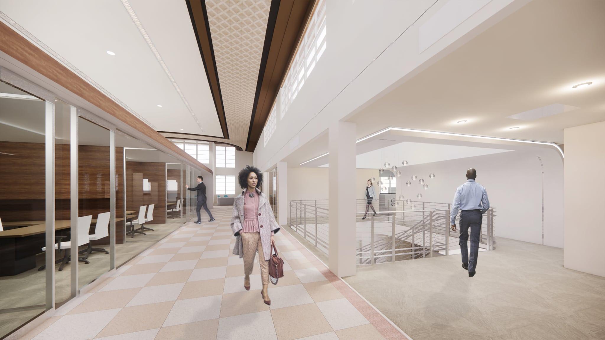 O lobby dos Greyhound do futuro