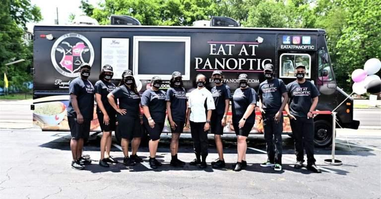 Eat at Panoptic food truck