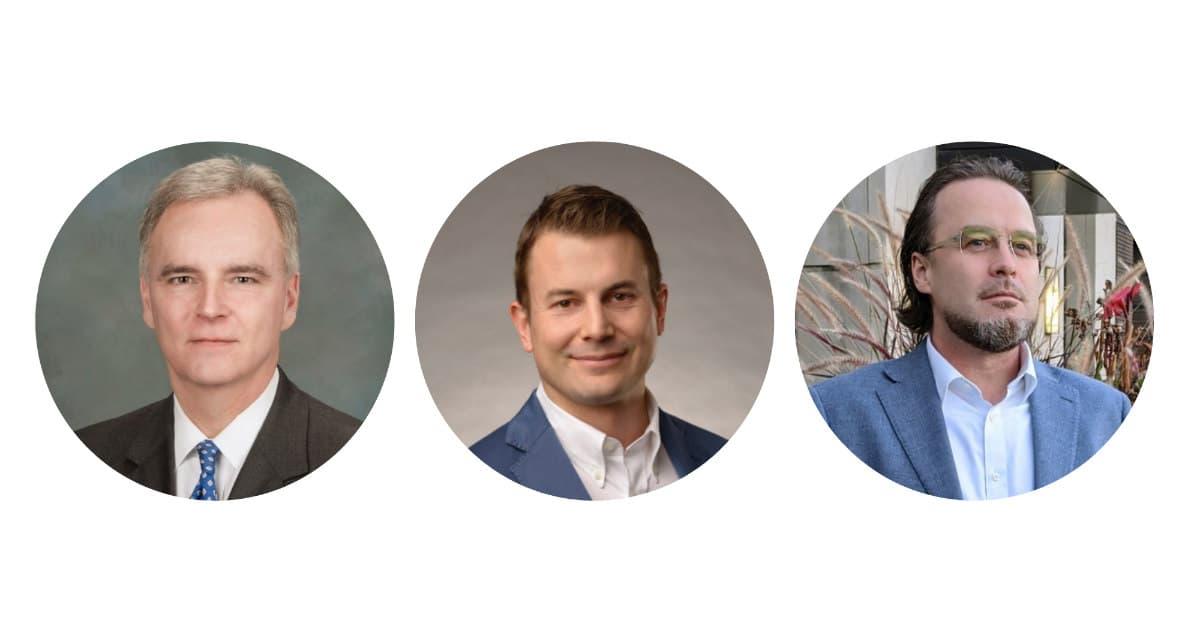Three business leaders in Birmingham