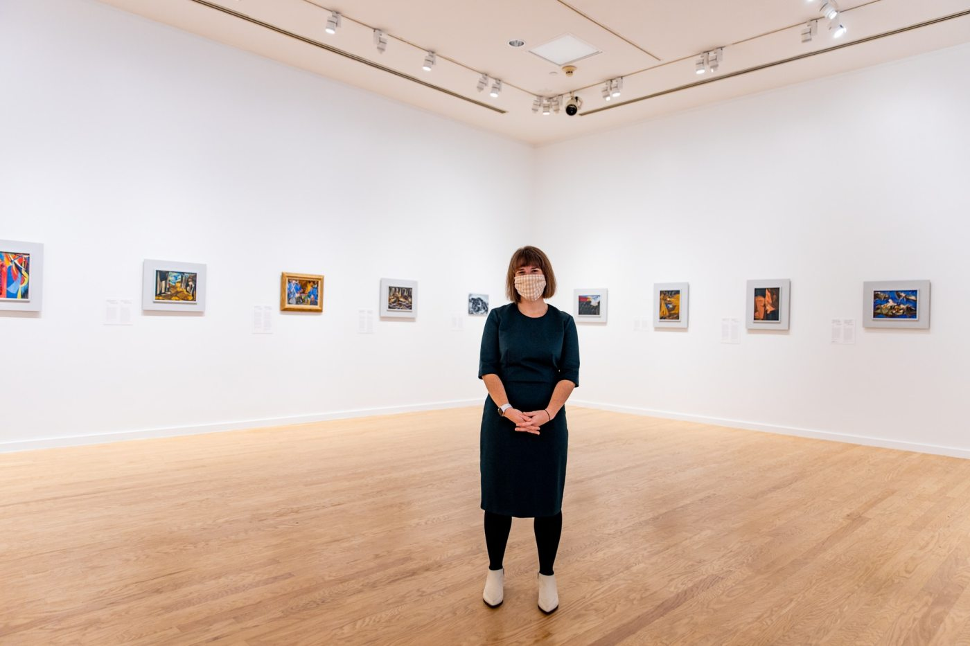 Kate Crawford, curator of  Jacob Lawrence: The Struggle