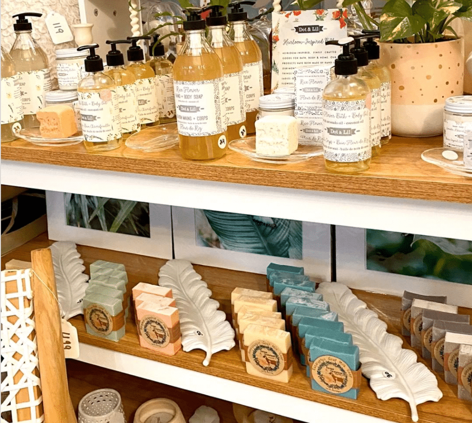 Soaps from Domicile