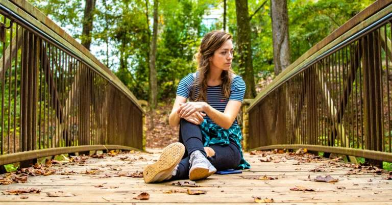 woman at Jemison Park