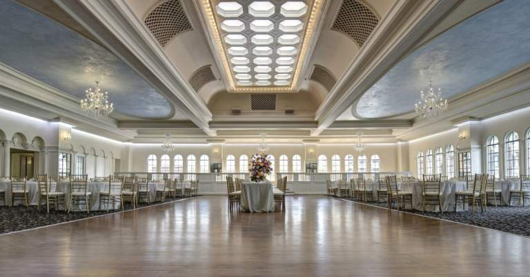 The Florentine ballroom