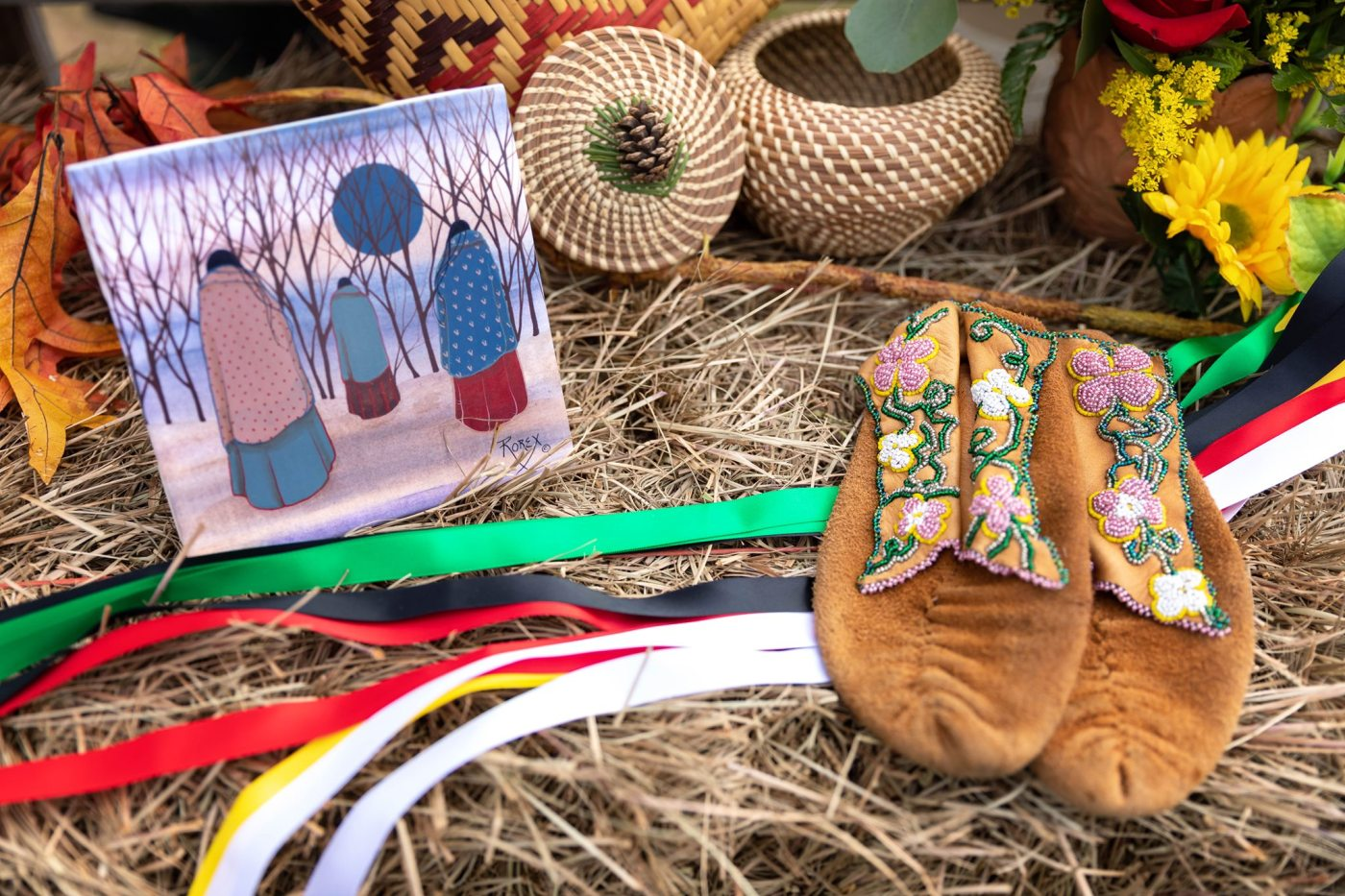 Native American made goods and art