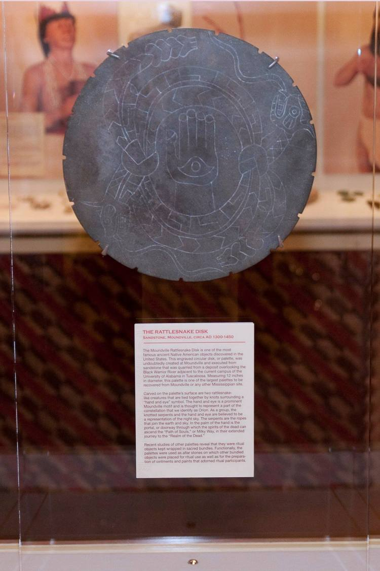 The Rattlesnake Disk is Alabama's State Artifact