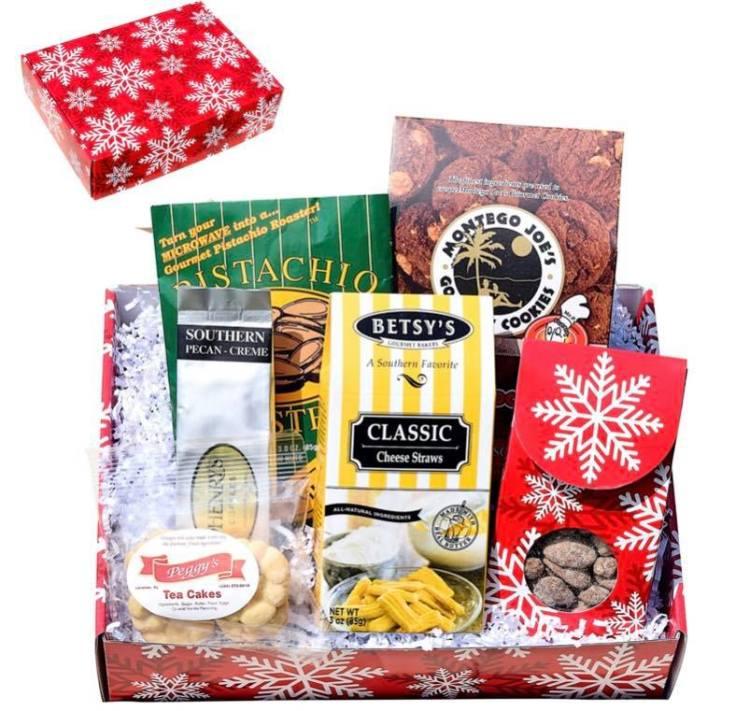 Birmingham gift box with cheese straws