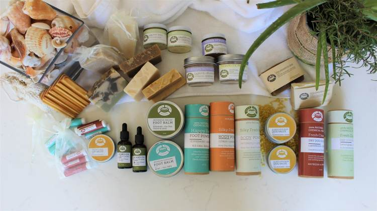 Borth Beach Soapery products
