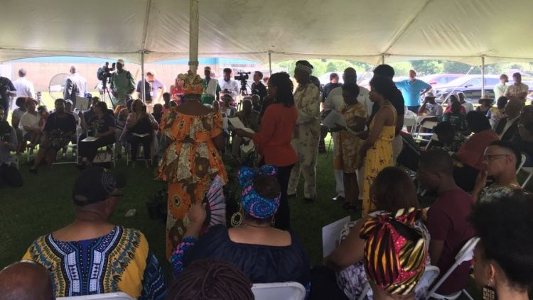 Celebration of the discovery of the Clotilda in Africa Town