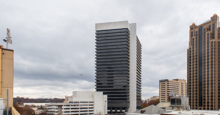 The AT&T City Center in Downton Birmingham