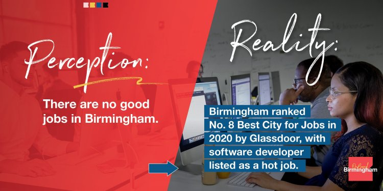 Birmingham's a great place for jobs