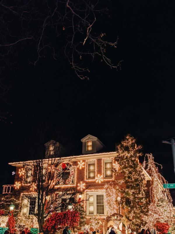 Birmingham winter activities, Christmas lights