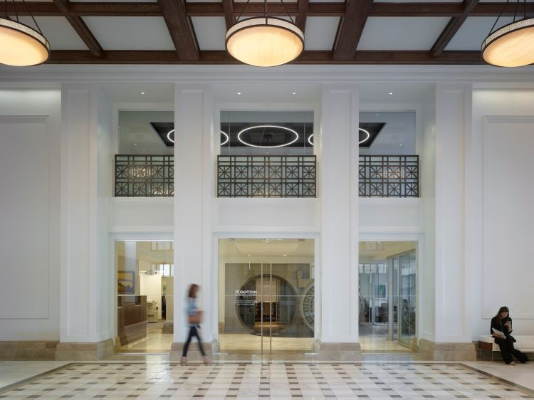 Federal Reserve interior