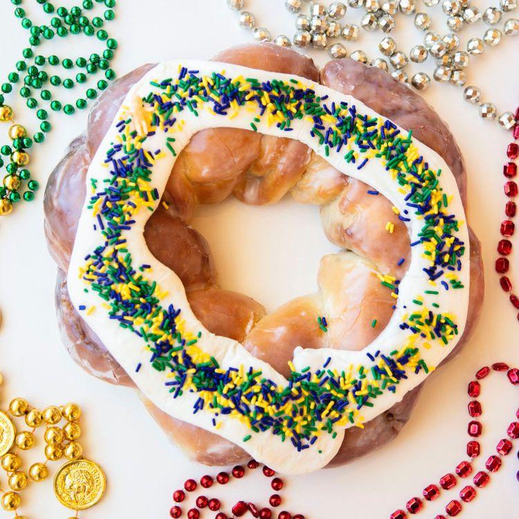 Hero Doughnut's king cake