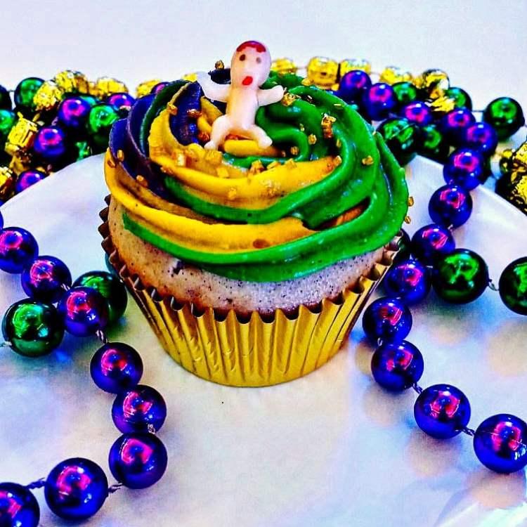 Rougaroux king cakes cupcakes