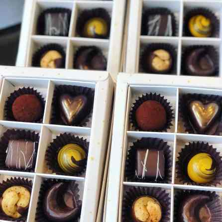 Beautiful chocolates for Valentine's Day from Chocolata in Birmingham