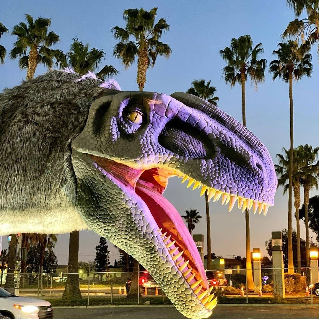 Jurassic Quest, dinosaurs