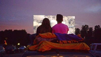 Leeds' Grand River Drive-In Valentine's Day date night and dinner