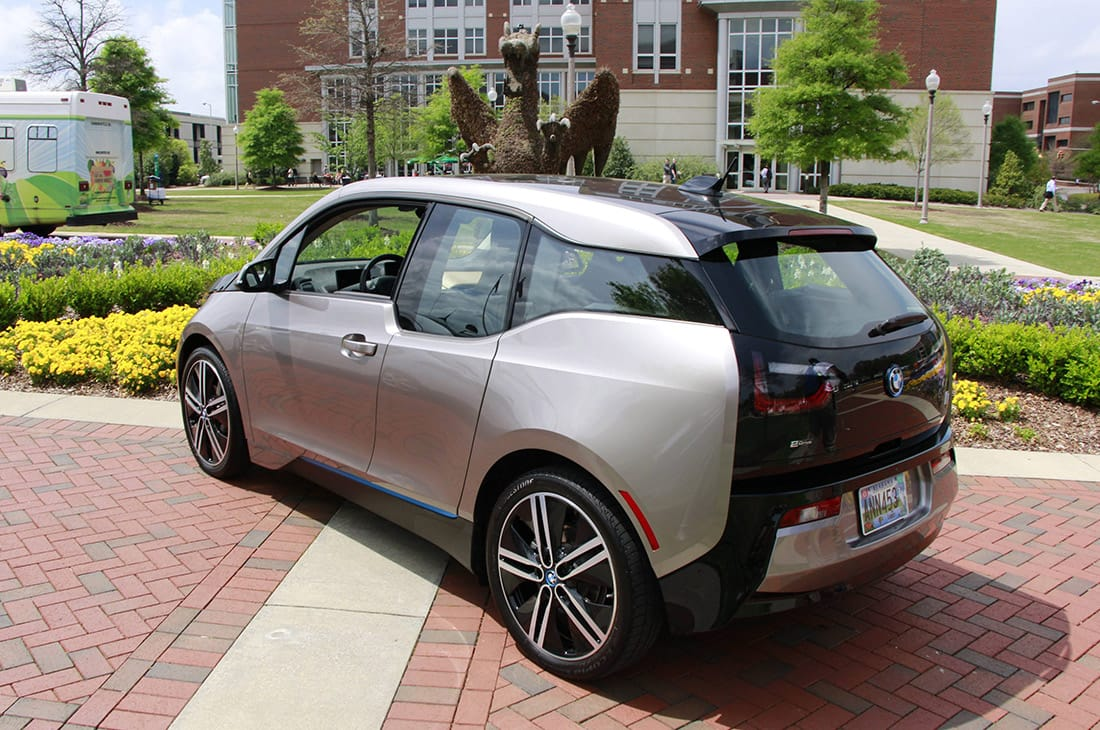 Electric vehicle charging on UAB campus