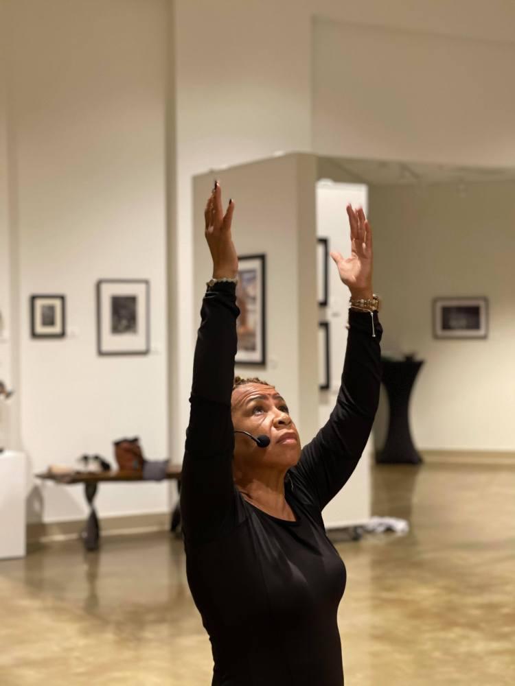Glorie Buie, one of several Black women yoga teachers in Birmingham
