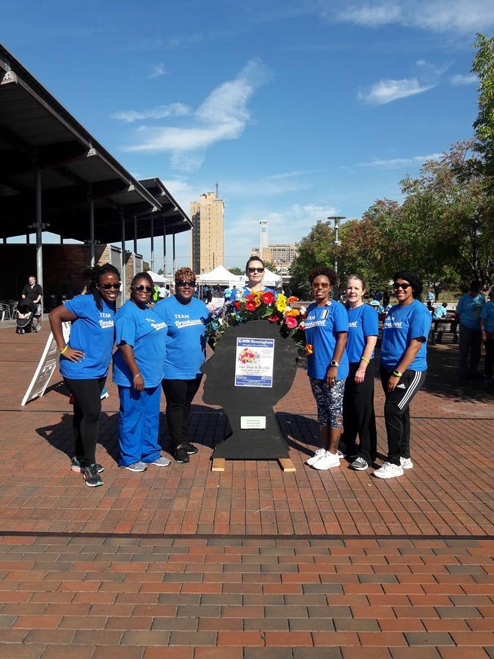 Team Brookwood at NAMI walk