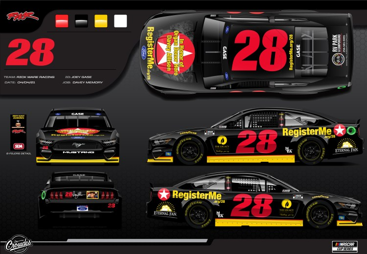Davey Allison Number 28