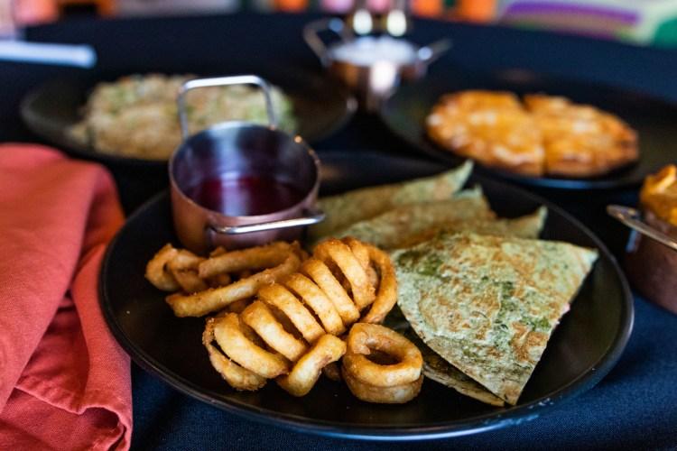 Bay Leaf kids' menu quesadillas