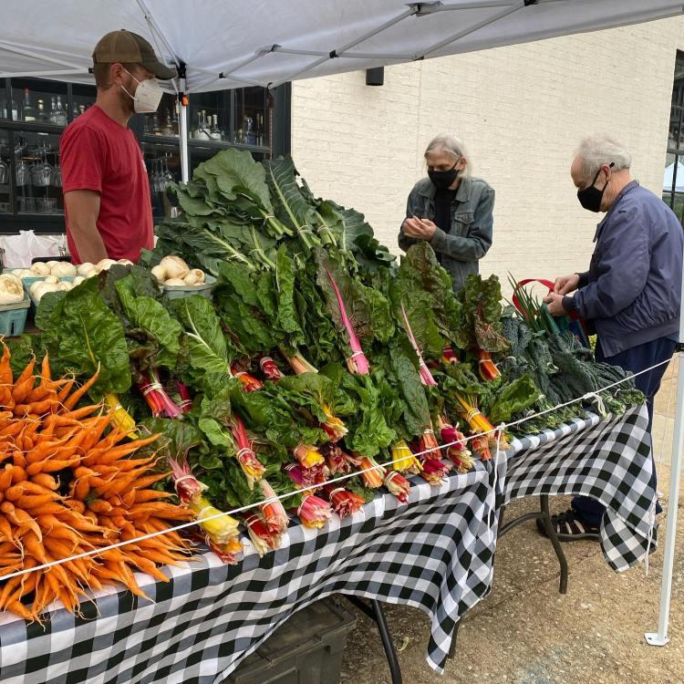 Birdsong Farmers Market produce