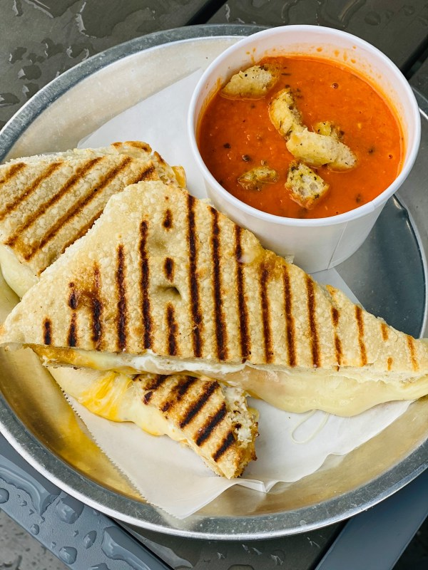 Crestline Bagel Company grilled cheese