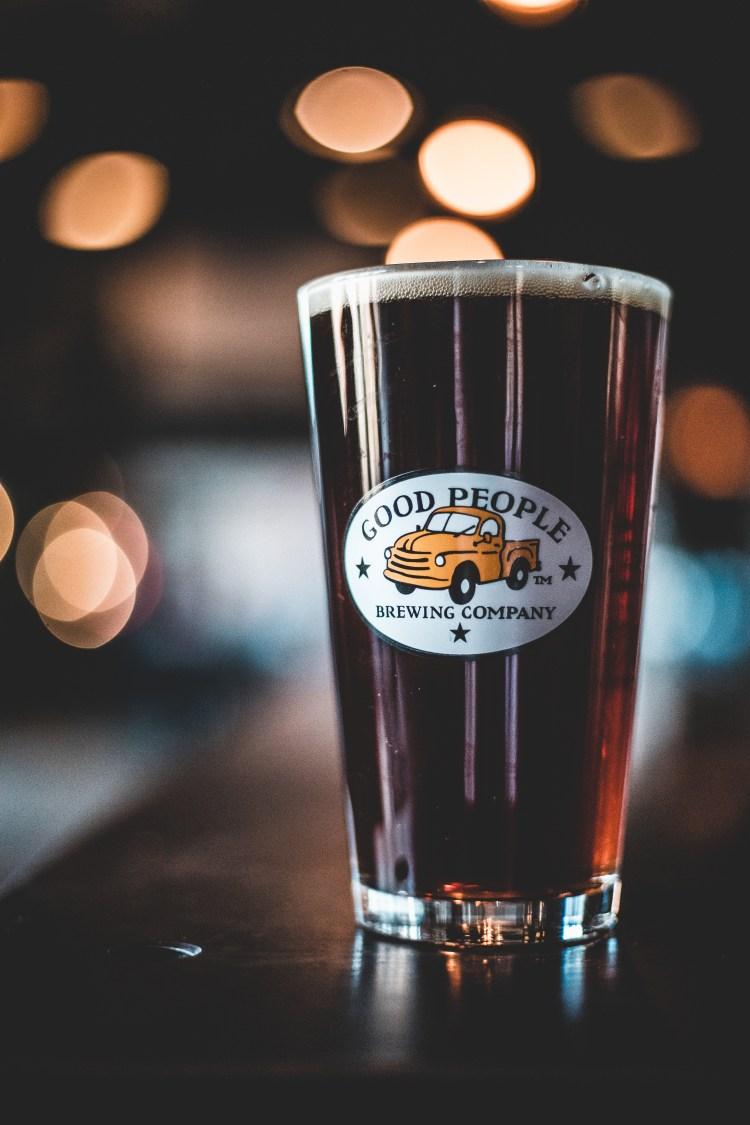 Good People Brewing Co beer