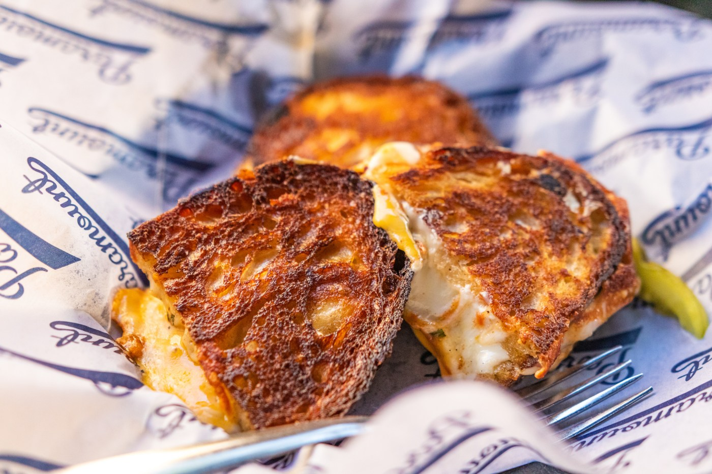 Paramount grilled cheese