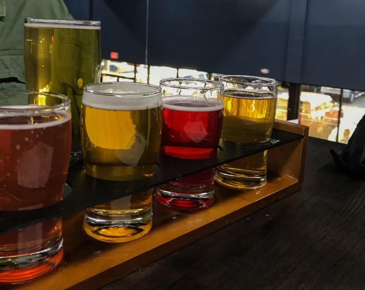 Oak Mountain Brewing Co flight