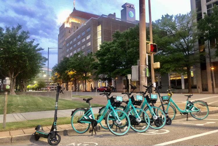 Birmingham Alabama bikes and scooters
