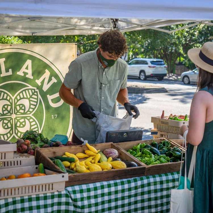 Unity Market fresh produce