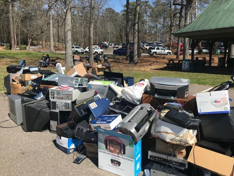 e-recycling collection