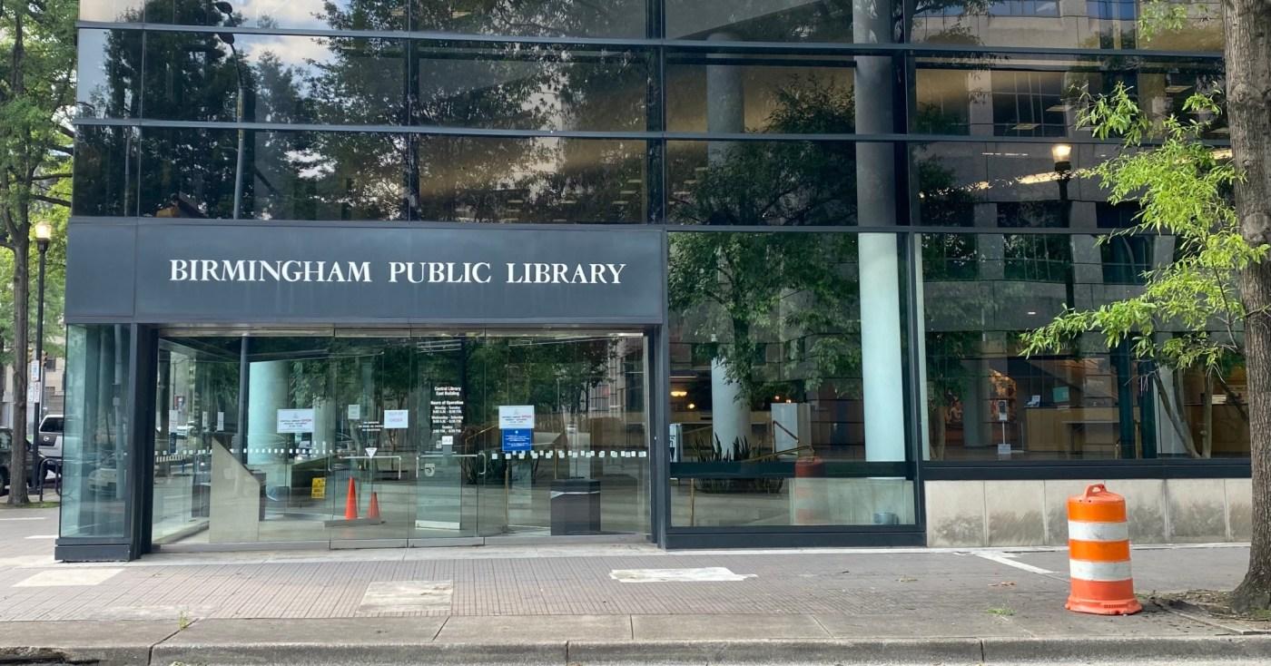Birmingham Public Library exterior