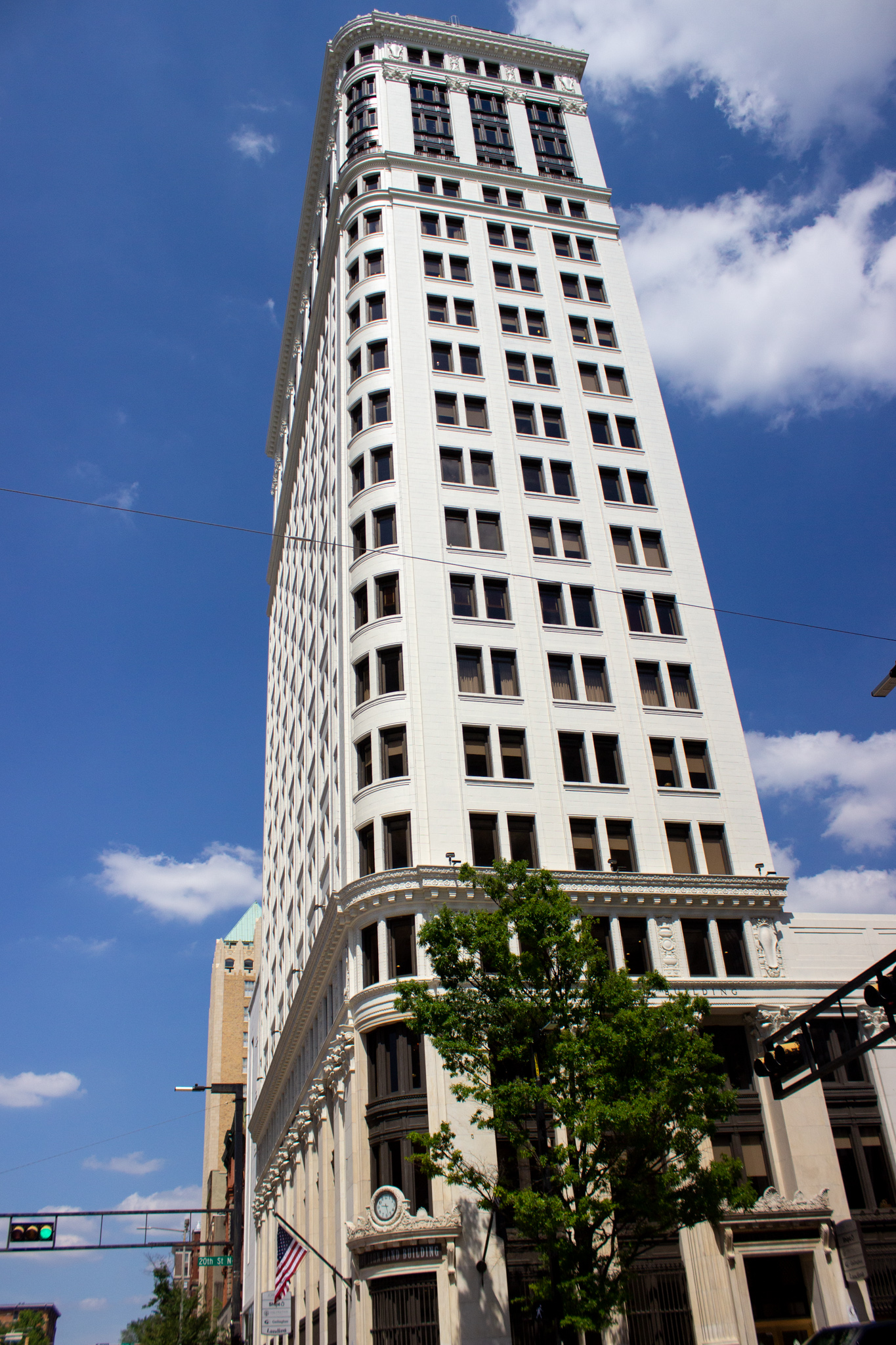 The John Hand Building is on the heaviest corner on earth. Photo by Libby Foster for Bham Now.