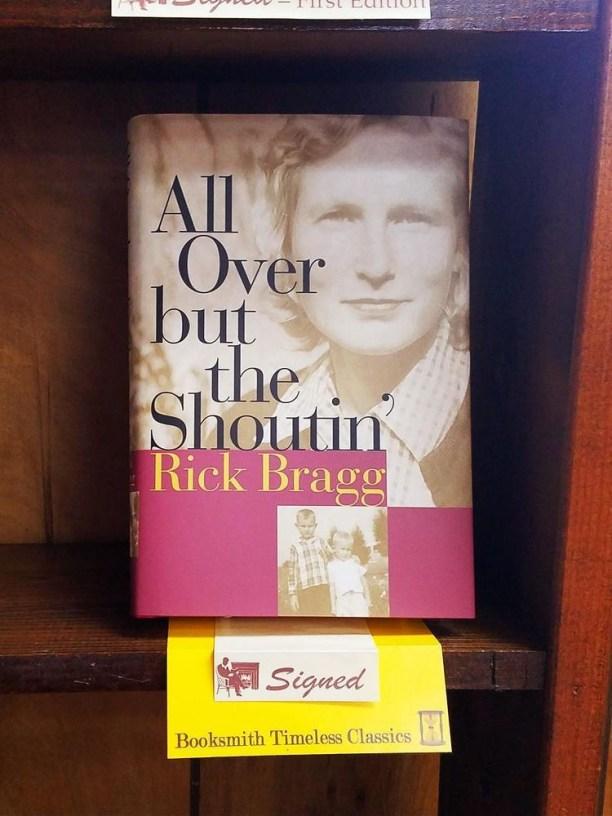 All Over but the Shoutin', Rick Bragg - Birmingham bookstores