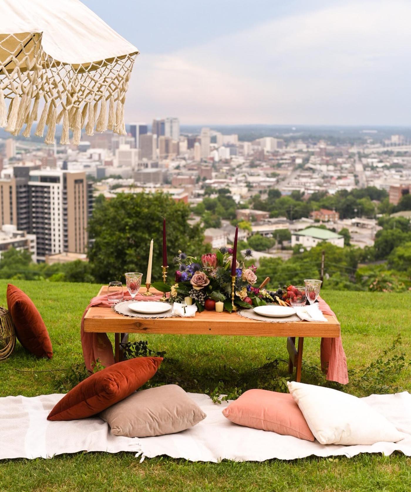 Birmingham luxury pop-up picnics - Fresno Picnic