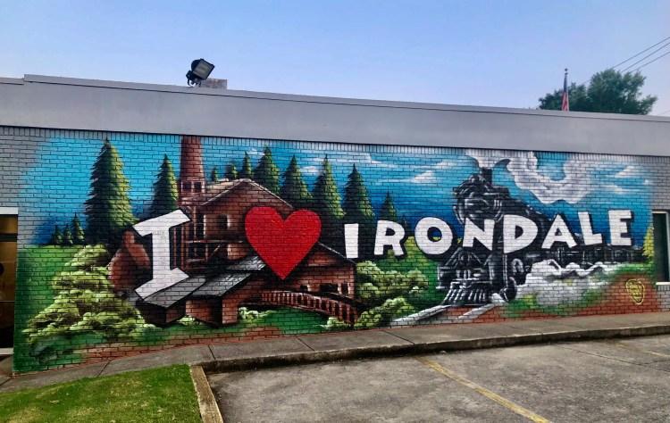 Irondale Mural