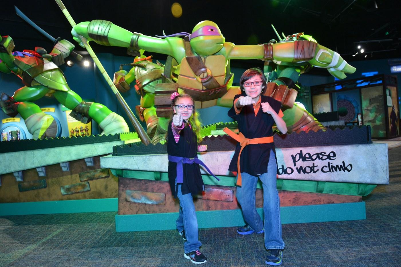 McWane Science Center, Teenage Mutant Ninja Turtles