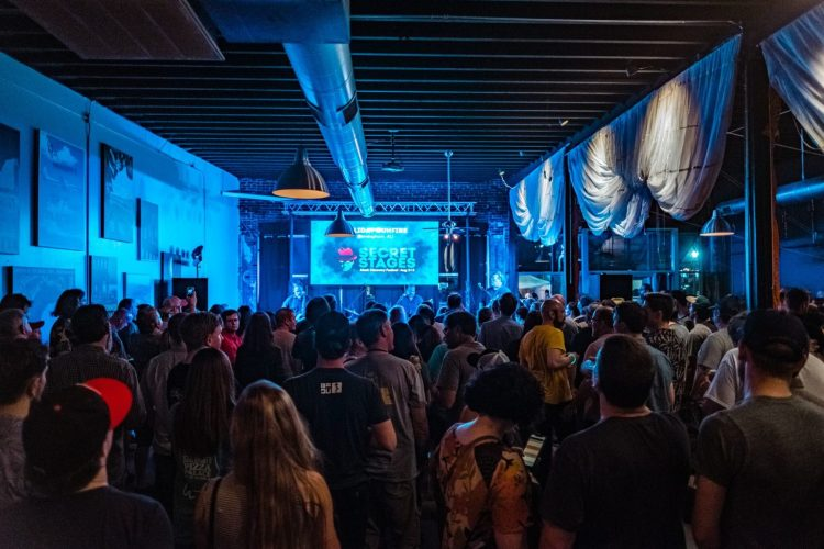 Secret Stages has consistently grown since its founding. Photo by Josh Weichman for Secret Stages