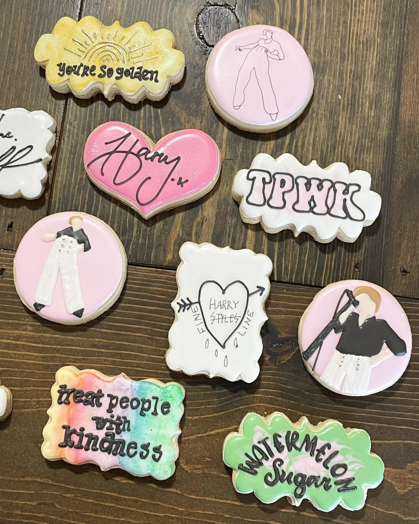 Sprinkles Cookie Company Harry Styles cookies