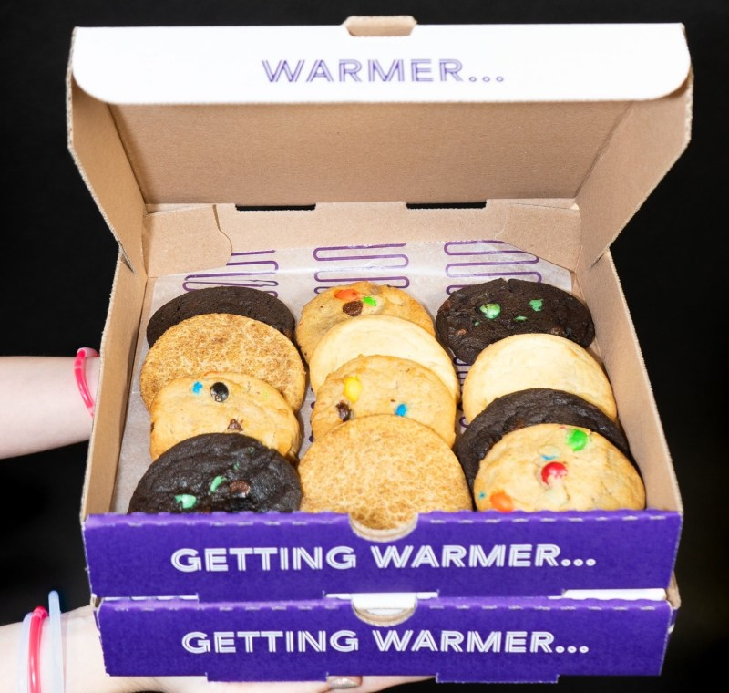 Is there anything better than a warm cookie?