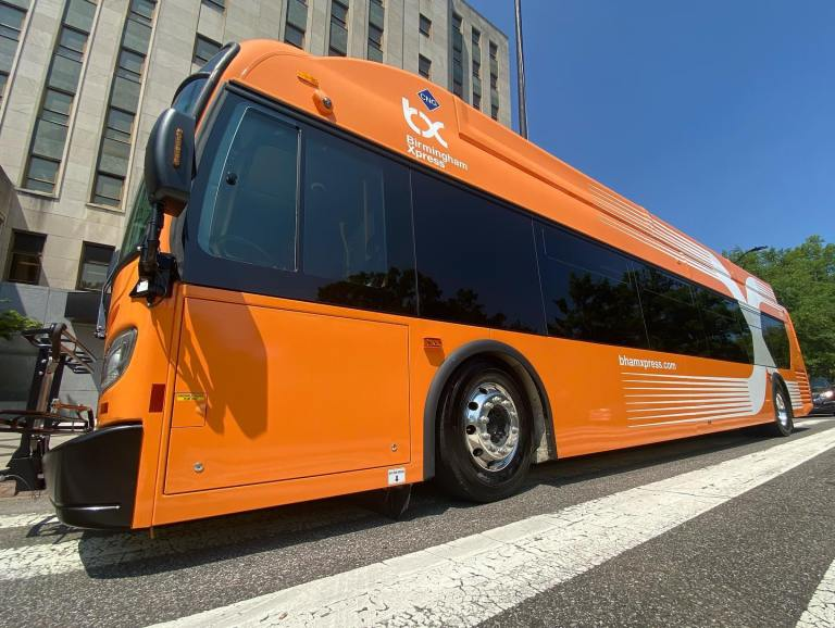 Birmingham Rapid Transit buses bring speedy travel to The Magic City