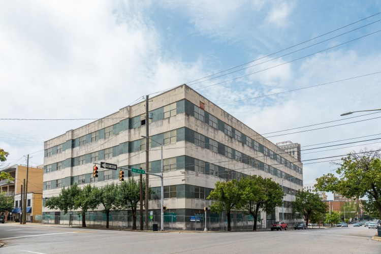 The Red Cross Building will be transformed into affordable housing soon. Photo by Nathan Watson for Bham Now