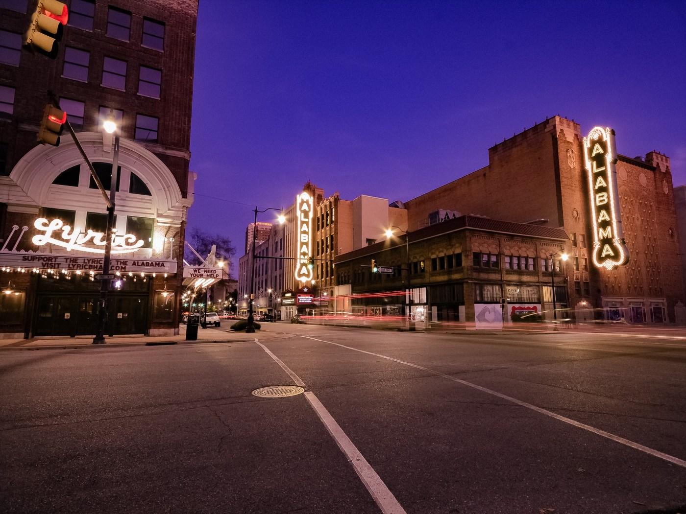 Alabama and Lyric Theatres