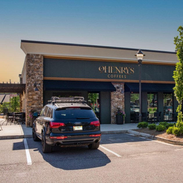 Coffee lovers, rejoice! A new location of O'Henry's for everyone to enjoy.