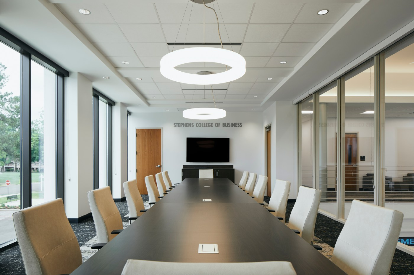 board rooms are one of the classroom design trends