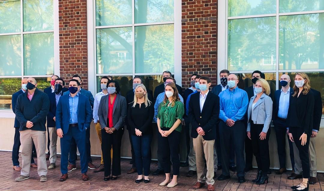 University of Alabama EMBA students